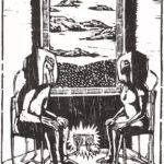 T-shirt Souvenir de confinement : Restez Connectés